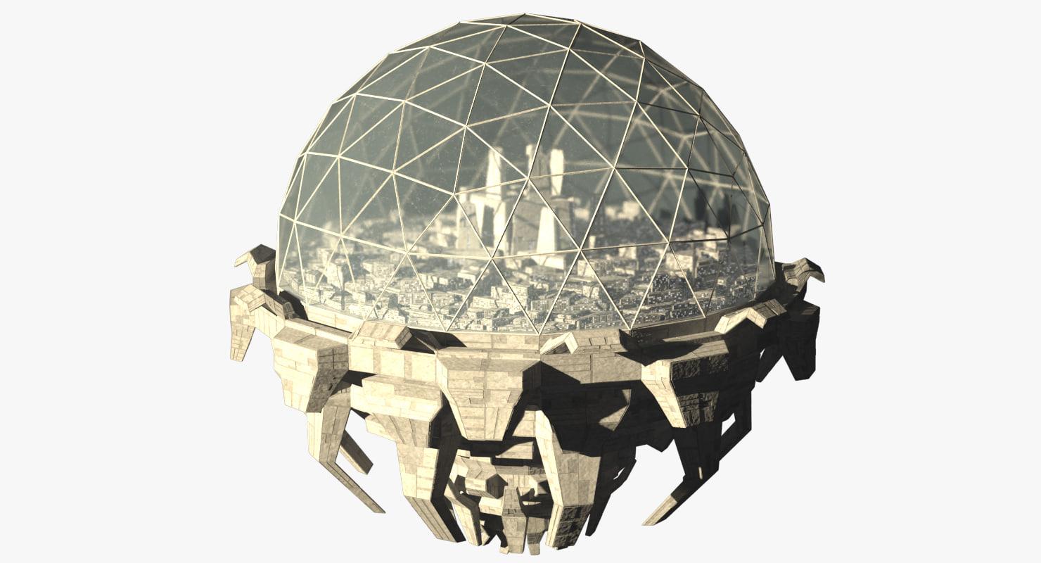 space station 3D model