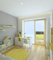 children room 3D model