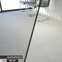 3D floor wall model