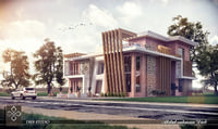 Modern villa - B2