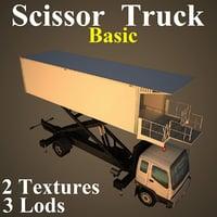 scissor basic 3D model