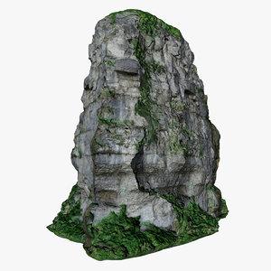 rock 01 scan 3D model