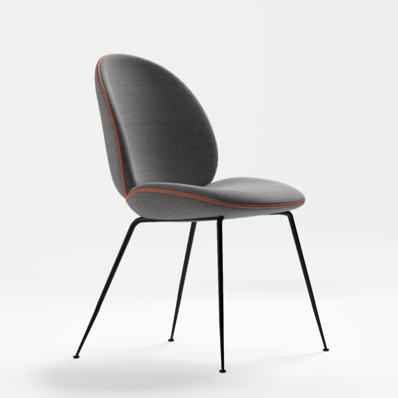 beetle chair 3D model