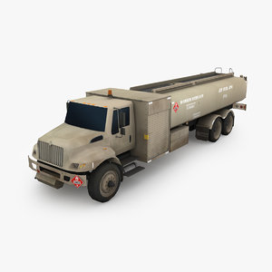 aircraft refueler 3D model