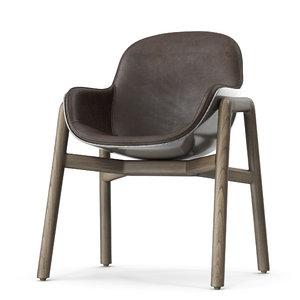 armchair stella 3D model