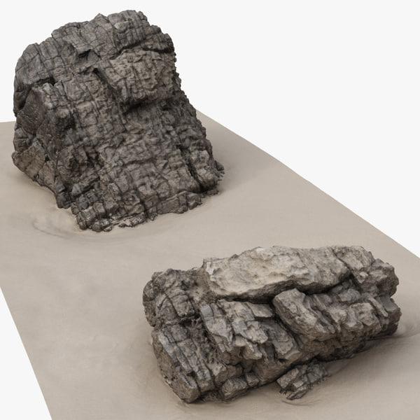 rock scan 25 3D model