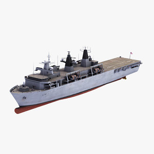 hms albion transport 3D model