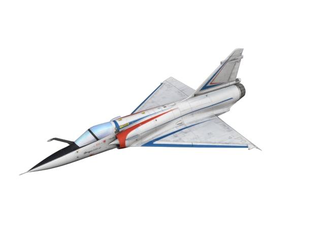 3D mirage aircraft