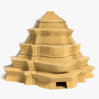 fantasy pyramid 3D model