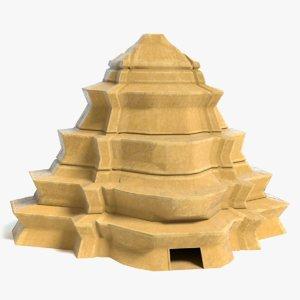 fantasy pyramid 3D model