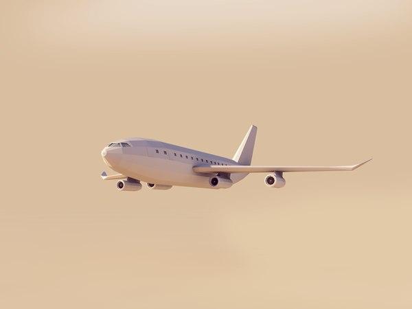 3D model jet airbus