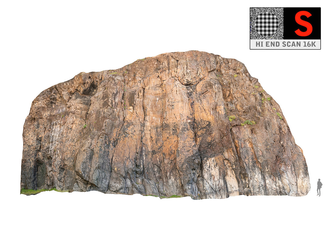 madagascar cliff rock 16k 3D