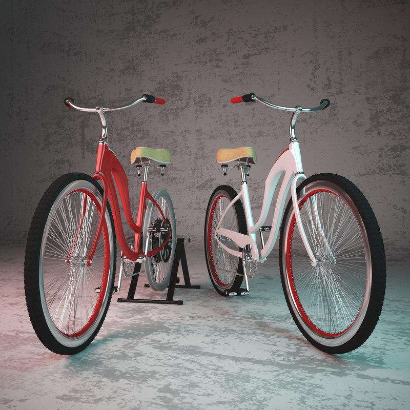 3D bike dynamo powered