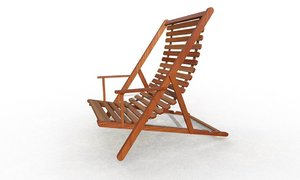 balcony chair 3D