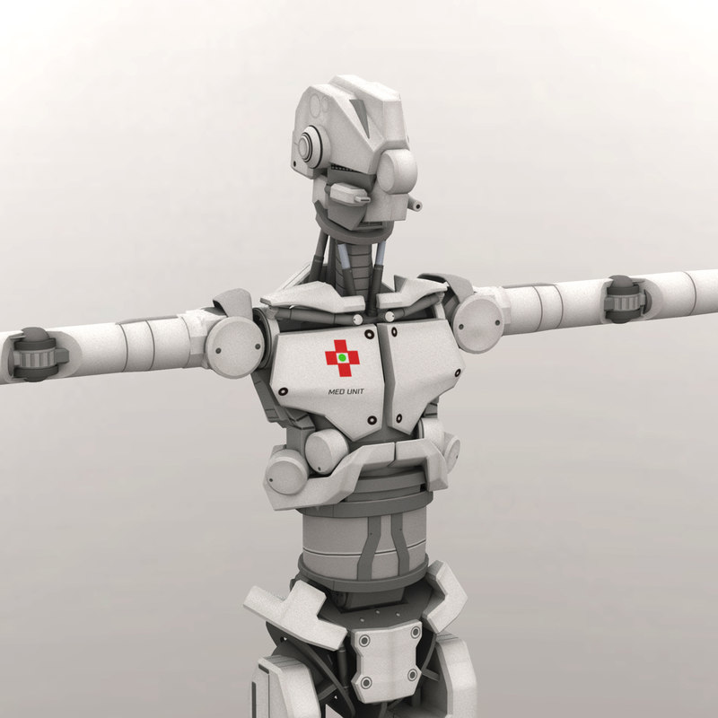 robot android 3D