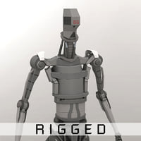humanoid rigged model