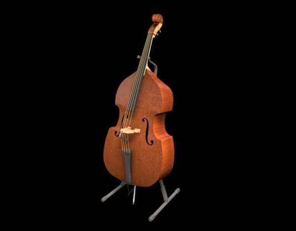 3D cello stand mic