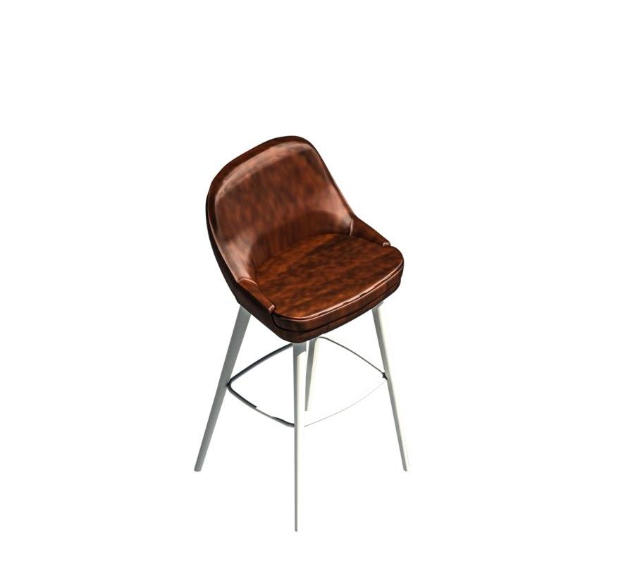 revit stool model