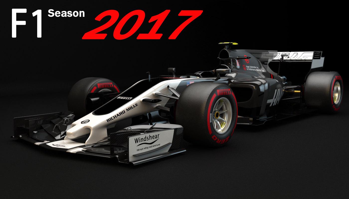 3D f1 vf-17 2017 update
