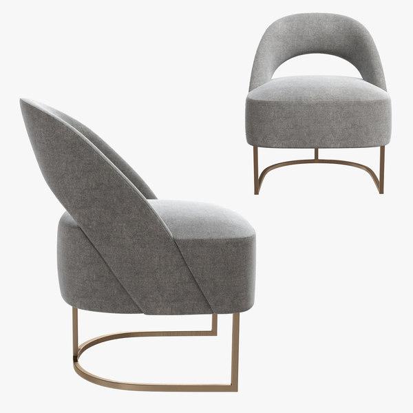 3D alma armchair