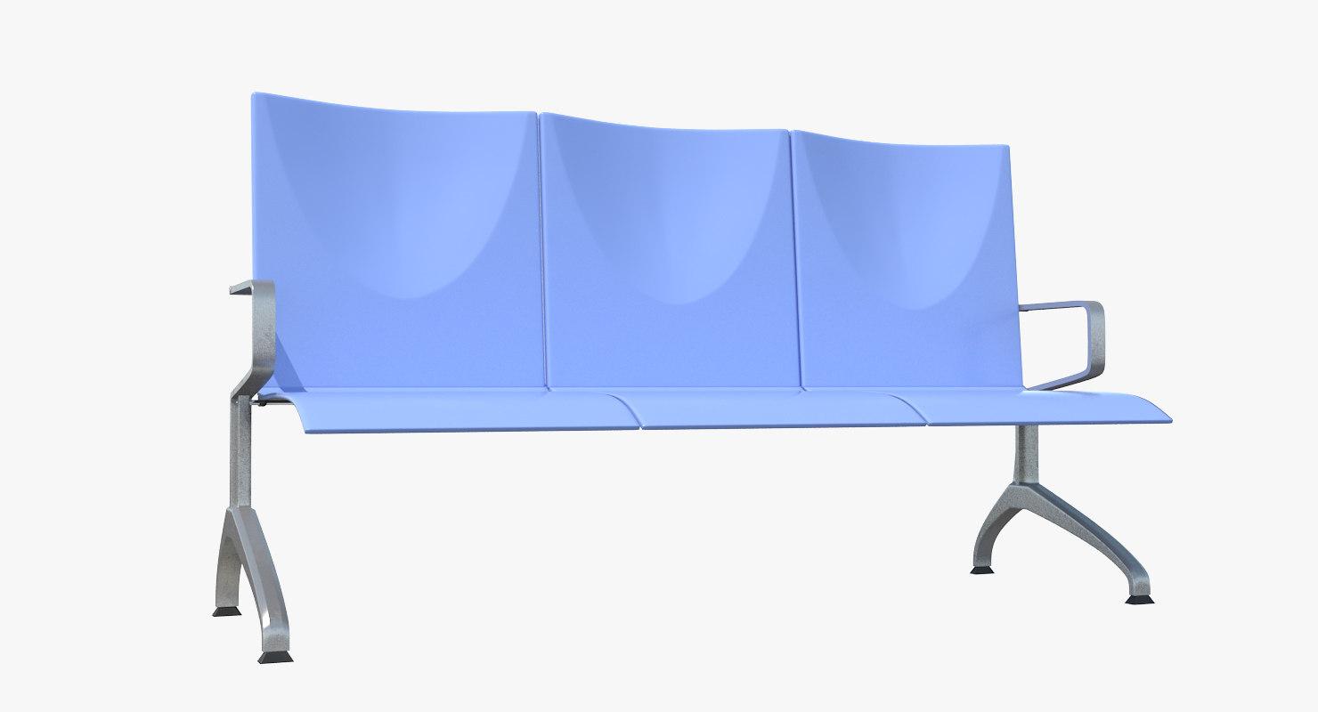 public bench 3D