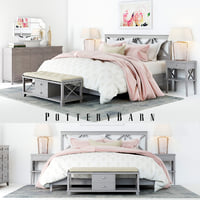 Pottery Barn Clara Lattice Bedroom set