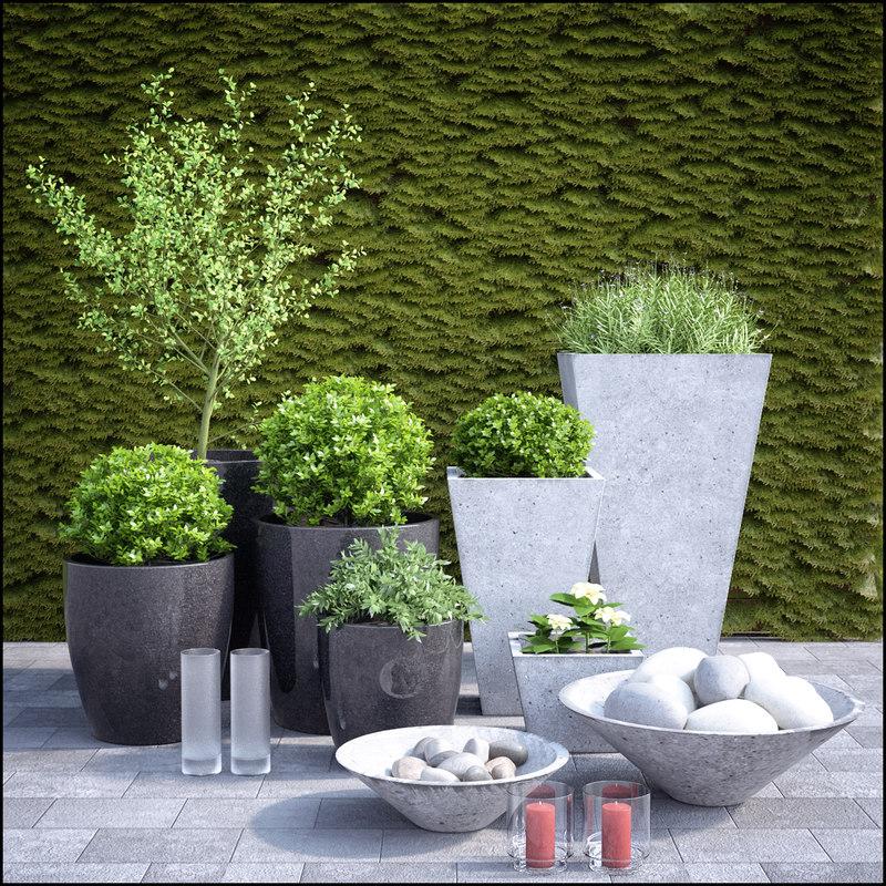 planter group 3D model