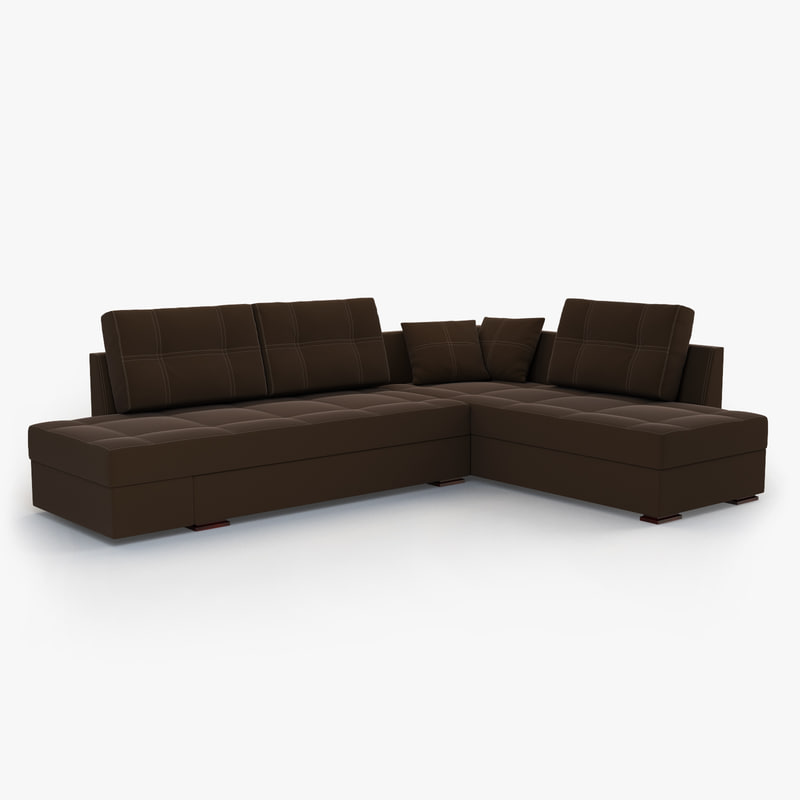 Large corner sofa franchesca 3D model - TurboSquid 1170743