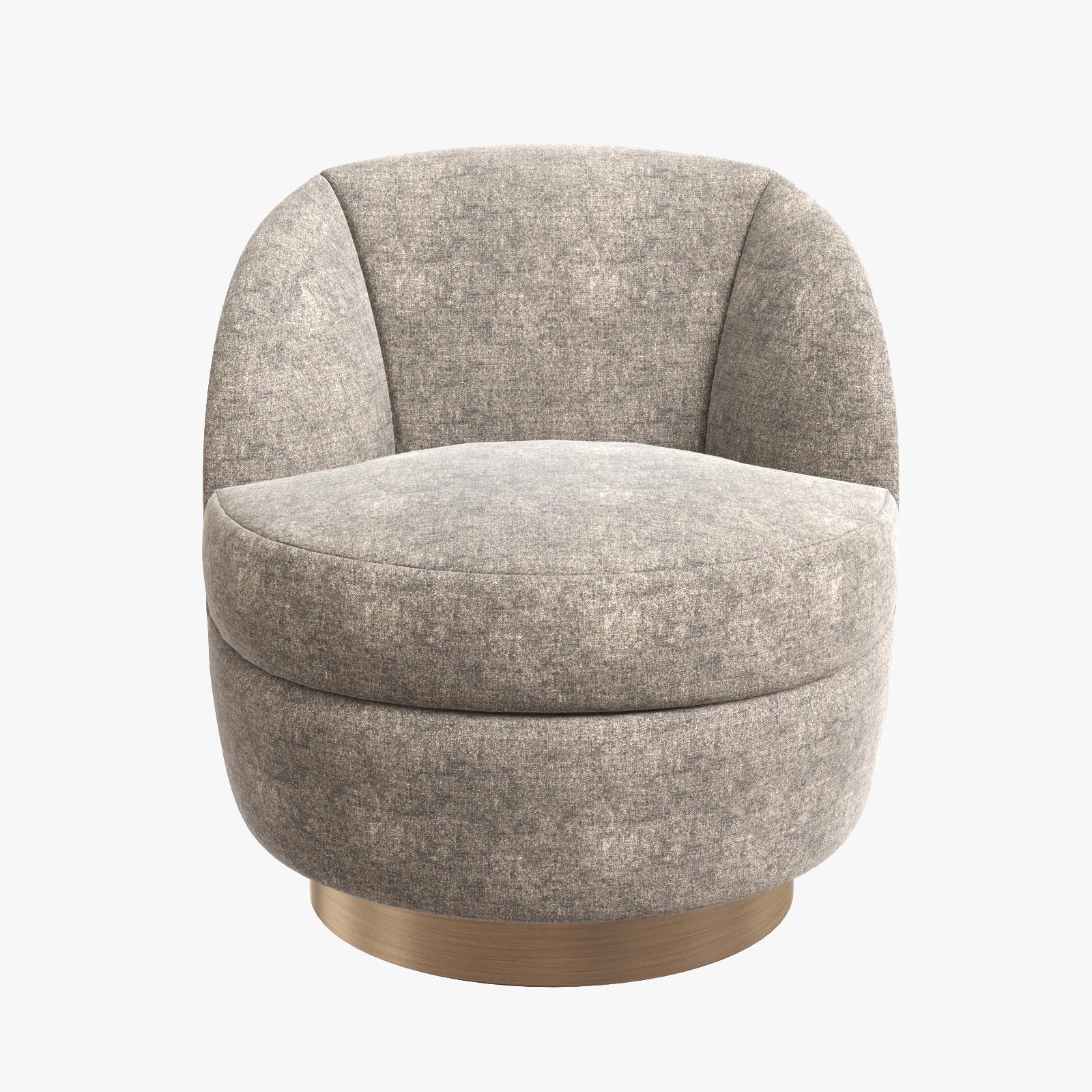Wondrous Elegant Swivel Tub Chair By Milo Baughman Camellatalisay Diy Chair Ideas Camellatalisaycom