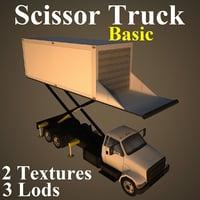 3D scissor basic model