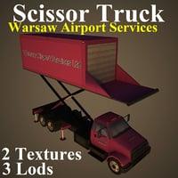 scissor truck warsaw model