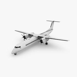 bombardier dash 3D model