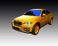 hamann x6 tuning 3D model
