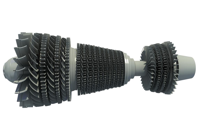 3D turbine model