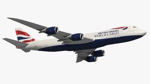 3D boeing british airways