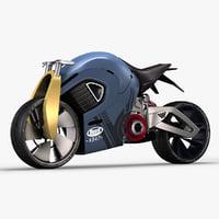 3D buell xb47 concept model