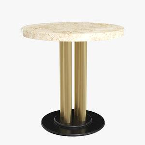 3D poltronovapaire tables dappoint model