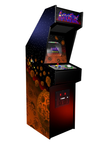3D model asterfire cabinet arcade