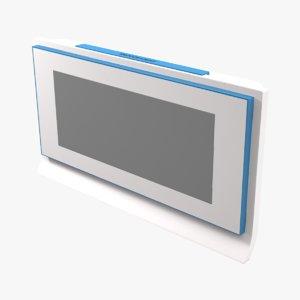3D model alarm clock electronic