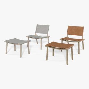 december lounge chair model
