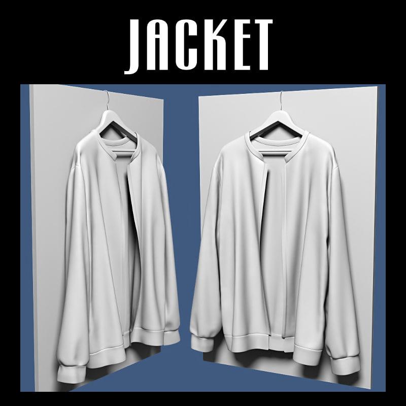 jacket hanger 3D model