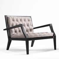 3D vittoria frigerio dona armchair furniture model