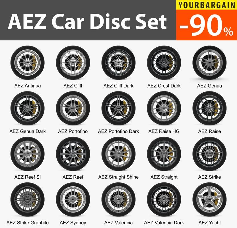 car disks aez 20 model