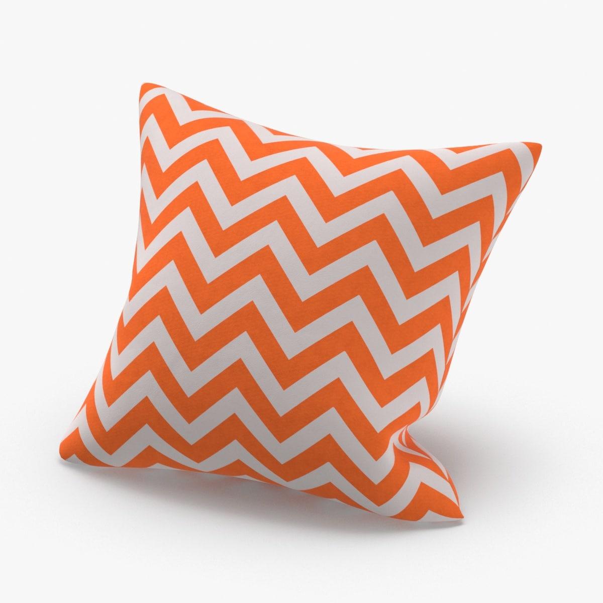 3D throw-pillow-02---orange-striped