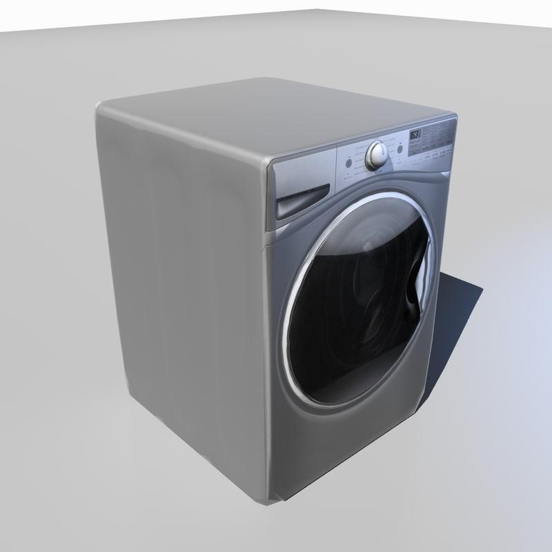 washer machine 3D