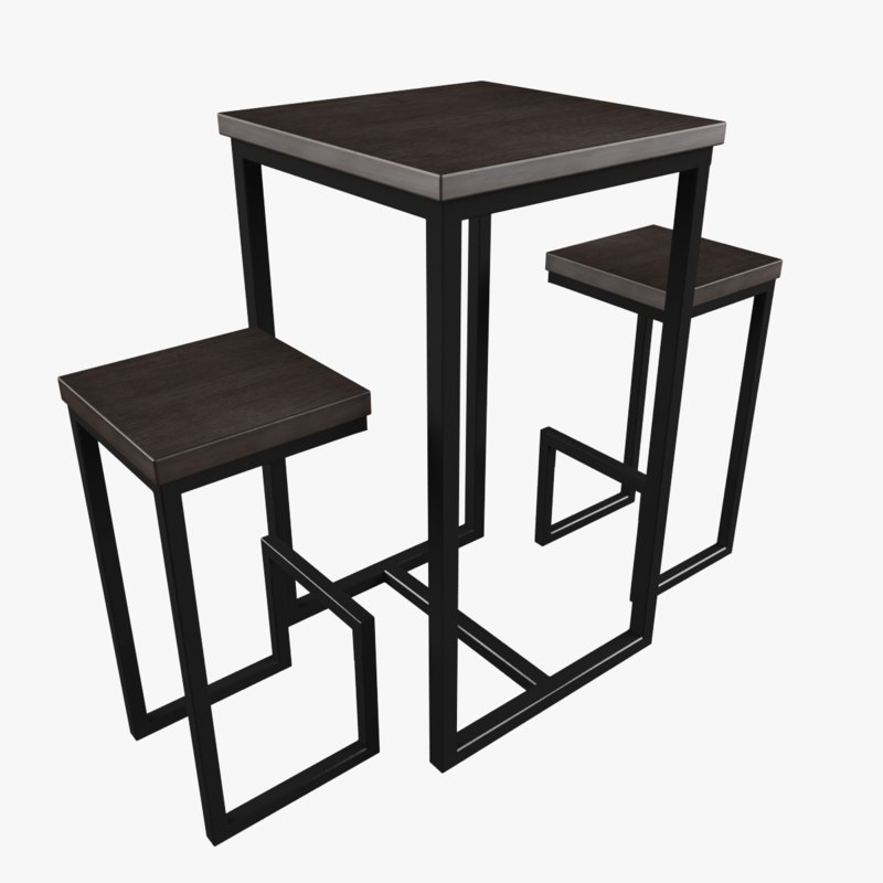 chair table 3D model