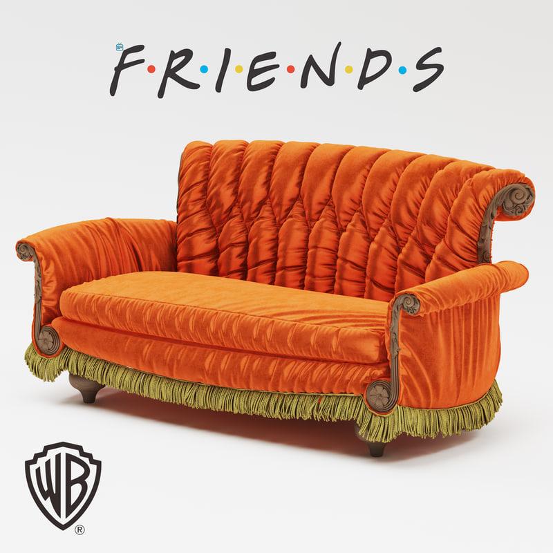 sofa friends 3D