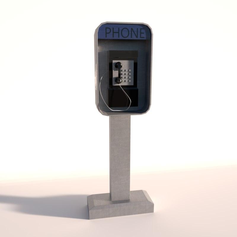 phone payphone model