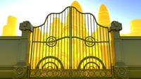 gates heaven 3D model