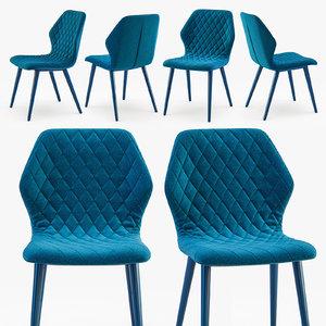 3D bross italia ava chair model